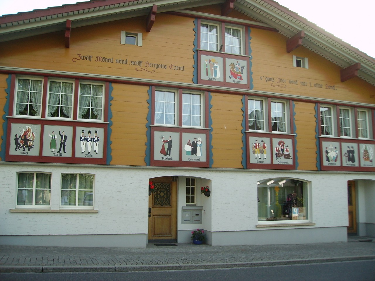 Haus in Appenzell