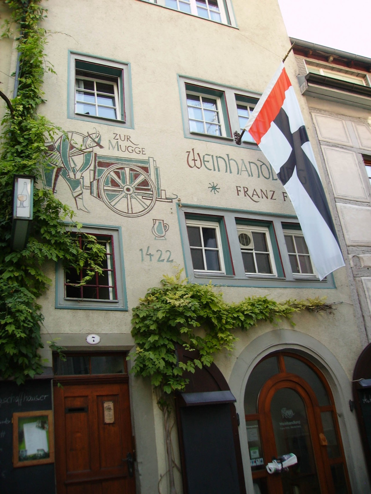 Wine taverns in the Niederburg